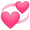 Revolving Hearts on Google Android 10.0 March 2020 Feature Drop