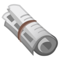 Rolled-Up Newspaper on Google Android 10.0 March 2020 Feature Drop
