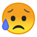 Sad but Relieved Face on Google Android 10.0 March 2020 Feature Drop