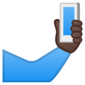 Selfie: Dark Skin Tone on Google Android 10.0 March 2020 Feature Drop
