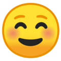 Smiling Face on Google Android 10.0 March 2020 Feature Drop