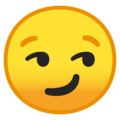 Smirking Face on Google Android 10.0 March 2020 Feature Drop