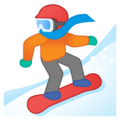 Snowboarder on Google Android 10.0 March 2020 Feature Drop