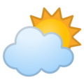 Sun Behind Cloud on Google Android 10.0 March 2020 Feature Drop