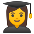 Woman Student on Google Android 10.0 March 2020 Feature Drop