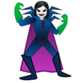 Woman Supervillain on Google Android 10.0 March 2020 Feature Drop