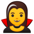 Woman Vampire on Google Android 10.0 March 2020 Feature Drop