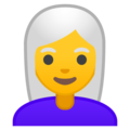 Woman: White Hair on Google Android 10.0 March 2020 Feature Drop