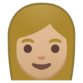 Woman: Medium-Light Skin Tone on Google Android 10.0 March 2020 Feature Drop