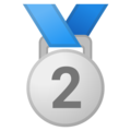2nd Place Medal on Google Android 11.0