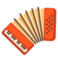 Accordion on Google Android 11.0