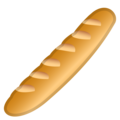Baguette Bread on Google Android 11.0