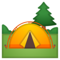 Camping on Google Android 11.0