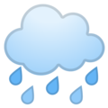 Cloud with Rain on Google Android 11.0