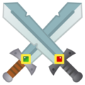 Crossed Swords on Google Android 11.0