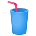 Cup with Straw on Google Android 11.0