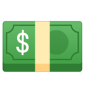 Dollar Banknote on Google Android 11.0