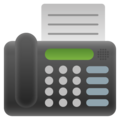 Fax Machine on Google Android 11.0
