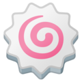 Fish Cake with Swirl on Google Android 11.0