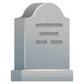 Headstone on Google Android 11.0