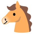 Horse Face on Google Android 11.0