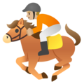 Horse Racing: Medium-Light Skin Tone on Google Android 11.0