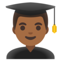 Man Student: Medium-Dark Skin Tone on Google Android 11.0