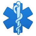 Medical Symbol on Google Android 11.0