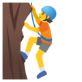 Person Climbing on Google Android 11.0