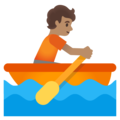 Person Rowing Boat: Medium Skin Tone on Google Android 11.0