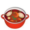 Pot of Food on Google Android 11.0