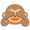 See-No-Evil Monkey on Google Android 11.0