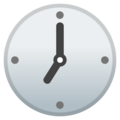 Seven O'Clock on Google Android 11.0