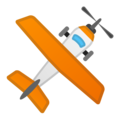 Small Airplane on Google Android 11.0