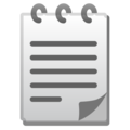 Spiral Notepad on Google Android 11.0