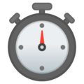 Stopwatch on Google Android 11.0