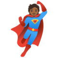 Superhero: Medium-Dark Skin Tone on Google Android 11.0