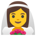 Woman with Veil on Google Android 11.0