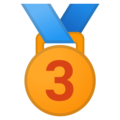 3rd Place Medal on Google Android 11.0 December 2020 Feature Drop