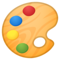Artist Palette on Google Android 11.0 December 2020 Feature Drop