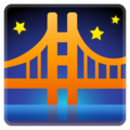 Bridge at Night on Google Android 11.0 December 2020 Feature Drop