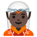 Elf: Dark Skin Tone on Google Android 11.0 December 2020 Feature Drop