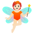 Fairy: Light Skin Tone on Google Android 11.0 December 2020 Feature Drop