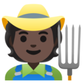 Farmer: Dark Skin Tone on Google Android 11.0 December 2020 Feature Drop