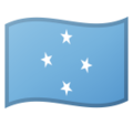 Flag: Micronesia on Google Android 11.0 December 2020 Feature Drop