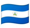 Flag: Nicaragua on Google Android 11.0 December 2020 Feature Drop