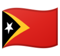 Flag: Timor-Leste on Google Android 11.0 December 2020 Feature Drop