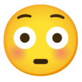 Flushed Face on Google Android 11.0 December 2020 Feature Drop
