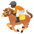 Horse Racing: Dark Skin Tone on Google Android 11.0 December 2020 Feature Drop