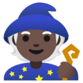 Mage: Dark Skin Tone on Google Android 11.0 December 2020 Feature Drop
